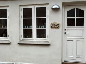 Husfacade Villa Kulla